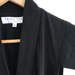 Trina Turk Cotton Wrap Dress - size 4